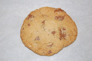 Whopper Cookie before